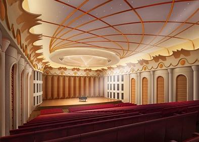 长春长影音乐厅改造工程音乐大堂