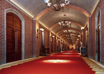 长春长影音乐厅改造工程走廊
