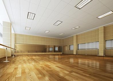 中国华侨大学陈嘉庚纪念堂改造总承包工程舞蹈室