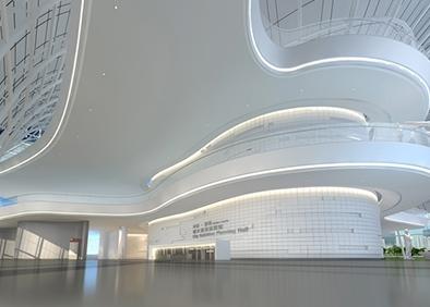 漯河城乡规划展览馆布展及装饰工程一层-序厅副本
