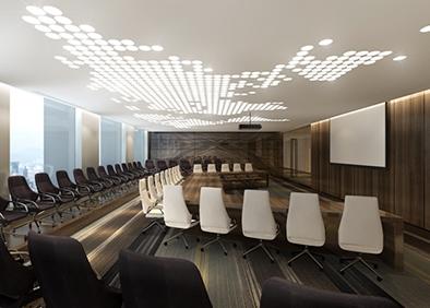 前海母基金总部办公楼大会议室